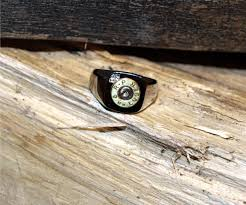 bullet wedding rings stainless steel bullet rings