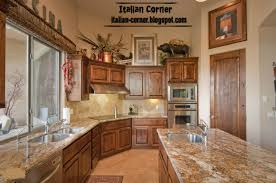 Italian Kitchens Classic Italian Wooden Kitchen Cabinets Designs