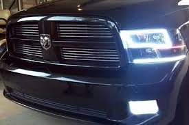 halo headlights for dodge ram 1500 add more color to your 2015 ram with oracle halo headlights ram