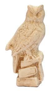 wholesale hand carved 5 u201d owl figurine buy in bulk off white