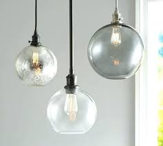 Clear Globe Pendant Light Modern Nordic Lustre Globe Pendant Lights Glass L Shade