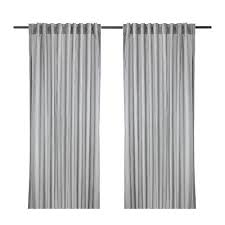 gulsporre curtains 1 pair white gray room lights and bedrooms