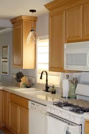 Purple Kitchen Backsplash Kitchen Lighting Light Over Sink Drum Wood Glam Brown Flooring