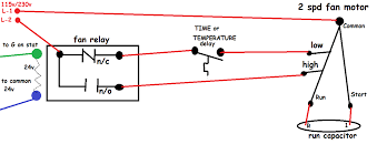 hvac fan relay wiring diagram gooddy org