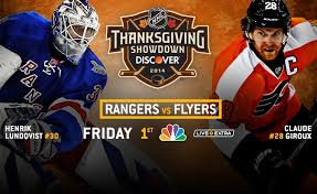 st louis rangers top flyers in nhl thanksgiving showdown the