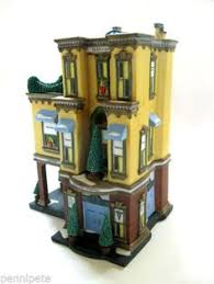 dept department 56 in the city mrs stover s bungalow