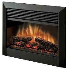 shop dimplex 32 in w 5 115 btu black metal electric fireplace with
