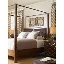 Canopy Bedroom Sets by Tommy Bahama Royal Kahala Diamond Head Canopy Bed Hayneedle