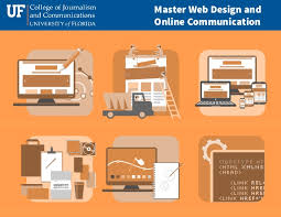 online journalism master s degree master s degree in web design information packet