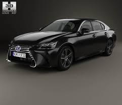lexus gs hybrid sedan lexus gs hybrid 2015 3d model hum3d