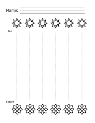 line tracing worksheets for preschoolers and toddlers