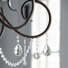 Chandelier Prisms For Sale Magnetic Crystals Set Of 3 Ballard Designs