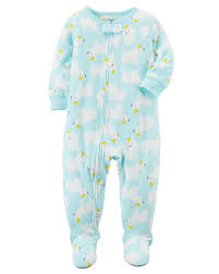 1 polar fleece pjs carters