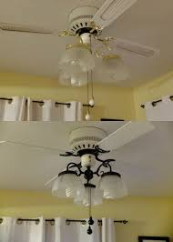 spray paint ceiling fan rustoleum oil rubbed bronze spray paint brought my 90s ceiling fan