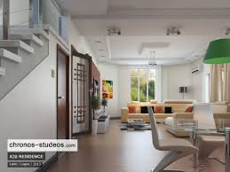 3d rendering lekki lagos nigeria interior living room space design