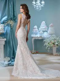 trumpet wedding dresses embroidered trumpet wedding dress 216163 enchanting by mon cheri
