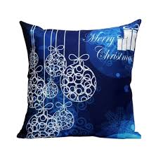 decoration awesome merry christmas custom zippered sofa cushion