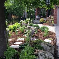 Front Yard Landscape Design by Small Front Yard Landscape No Grass Outside Pinterest Small
