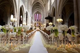 inspirations church wedding flowers with church aisle with flower