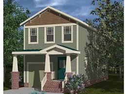 houses for narrow lots narrow lot house plans craftsman style narrow lot home plan