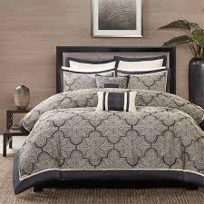 Jacquard Bed Set Park Medina 8 Jacquard Comforter Set Ebay