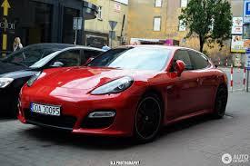 porsche panamera matte red porsche panamera gts 16 june 2017 autogespot