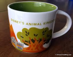 Animal Mug Photo Tour Animal Kingdom Starbucks Now Open The Disney Food Blog