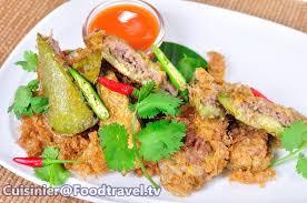 cuisine plus tv recettes มะเข อยาวหน าหม ทอด fried eggplant with pork foodtravel tv ส ตร