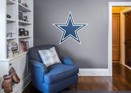 dallas cowboys logo wall decal shop fathead for dallas cowboys dallas cowboys logo fathead wall decal