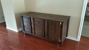 Indoor Bar Cabinet Diy Custom Pallet Indoor Bar Table 101 Pallets