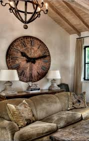 Home Decor Wall Clock Best 25 Large Vintage Wall Clocks Ideas On Pinterest Wall