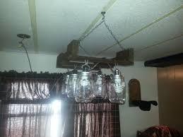 custom kitchen lighting custom made rustic mason jar kitchen light by palmer custom