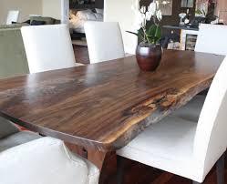 Black Walnut Table Top by Lyrical Lines U2013 Salvaged Walnut Dining Table The Alternative