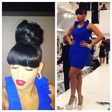 keyshia dior hairstyles keyshia dior blue hair today s fashion show swag nyfw fit