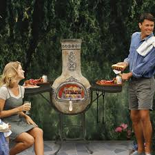 Chiminea With Pizza Oven Mexican Chiminea Cooking Google Search Chimnea Pinterest
