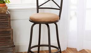 Industrial Metal Bar Stool Bar Hillsdale30inchnapavalleyswivelbarstoolbrownleatherseat