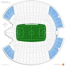 Fc Dallas Field Map by Centurylink Field Soccer Seating Guide Rateyourseats Com