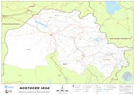 Map Iraq Northern Iraq General Logistics Planning Map As Of 19june 2014