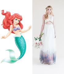 disney princess wedding dresses modern wedding dresses for every disney princess wedding dress