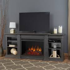 Real Flame Electric Fireplaces Gel Burn Fireplaces Real Flame Eliot Antique Grey Grand Electric Fireplace Free