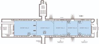 bartle exhibit hall a e kansas city convention center overview