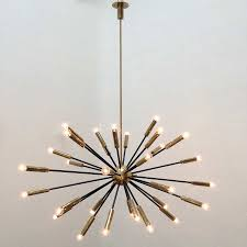 Sputnik Light Fixture by Elliptical Sputnik Chandelier Vintage Chandeliers At Lumfardo