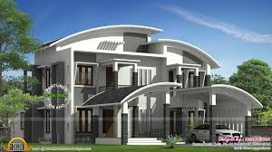 kerala home design flat roof elevation curved roof house plan kerala home design and floor plans home