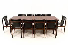 dining table cheap price mid century modern dutch rosewood extendable dining table by fristho