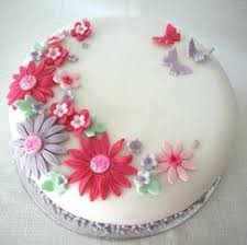 celebration cakes blooming lovely celebration cake baking mad