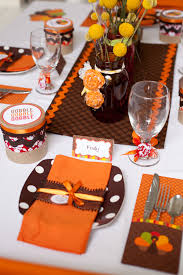 thanksgiving dinner table design