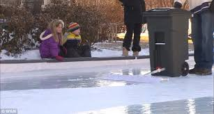 Hockey Rink In Backyard by Man U0027s Homemade Ice Rink Is His Back Yard Is A Hit With His