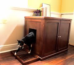 Kitty Litter Bench Cat Litter Box Furniture From The Refined Feline