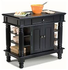 42 in kitchen island black traditional kitchen islands and