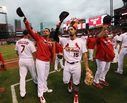 october baseball rolls on minus the cardinals st louis
